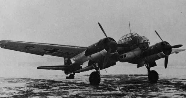 Разгром Ju 88 эскадры «Гинденбург» летчиками Балтфлота