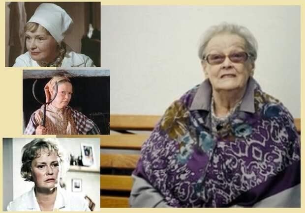 Кадры из кинофильмов с участием  Нины Гребешковой/ Нине Павловне Гребешковой - 90 лет.