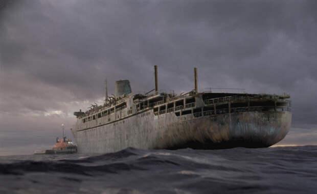 Корабли-призраки, до сих пор бороздящие океаны