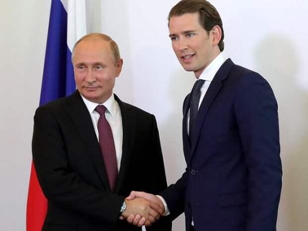 Канцлер Австрии позвонил Путину поговорить о Навальном и предложить Вену для встречи с Байденом