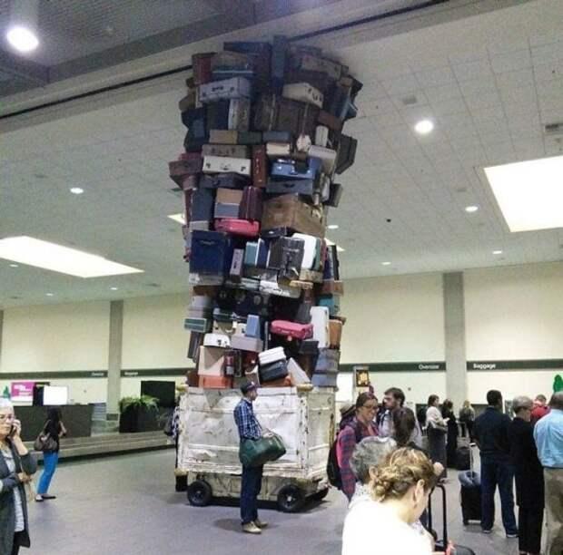 Забавные ситуации в аэропортах (10 фото)