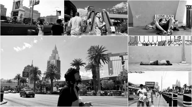 Фотограф запечатлел «темную сторону» Вегаса и истинноеразделение между «имущими и неимущими»