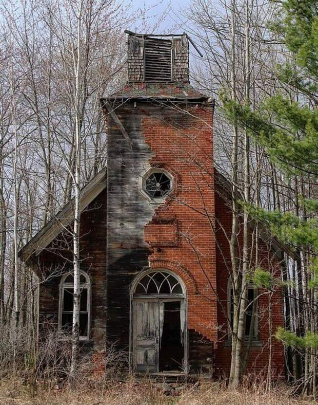16 заброшенных мест, от которых захватывает дух