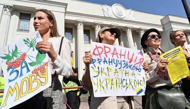 Вытеснение русского языка обречено на провал