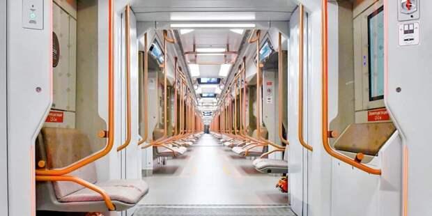 Количество поездов «Москва-2020» в метро увеличилось в 1,5 раза с начала года