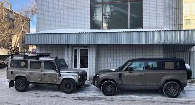 Сможет ли новый Land Rover Defender противостоять предшественнику