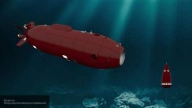 ФПИ: аппарат с ИИ «Витязь» доставил на дно Мариинской впадины вымпел Победы