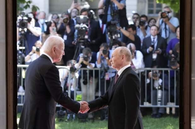 Вот и поговорили: о чем договорились Путин и Байден на встрече в Женеве
