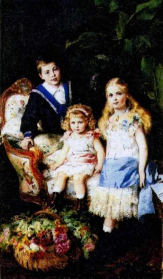 Дети Александра II.
