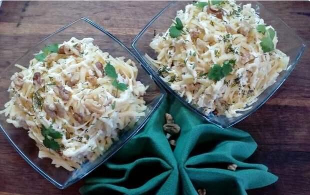 Рецепт вкуснейшего салата за 5 минут