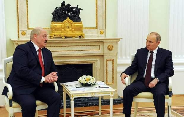 Путин: работа над интеграционными процессами в рамках Союзного государства идет эффективно