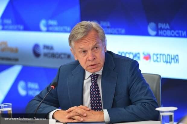Пушков оценил успех Зеленского в Лондоне язвительным сарказмом