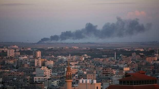 Число убитых всекторе Газа палестинцев выросло до109 человек