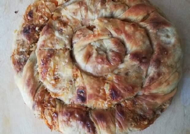 Бурма — аппетитный татарский пирог