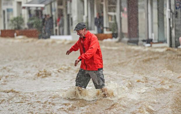 На пострадавшие от наводнения районы Бельгии вновь обрушились ливни