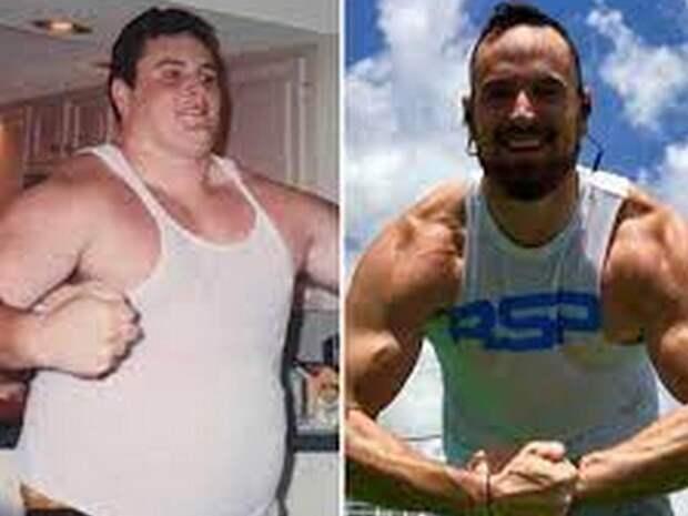 200-килограммовый отец двоих детей похудел вдвое
