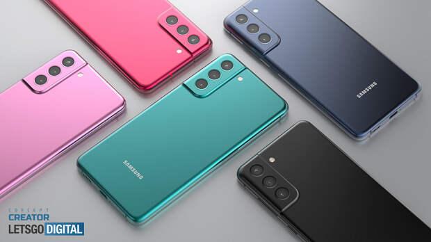 Так выглядит Samsung Galaxy S21 Fan Edition. Качественные рендеры и видео новинки