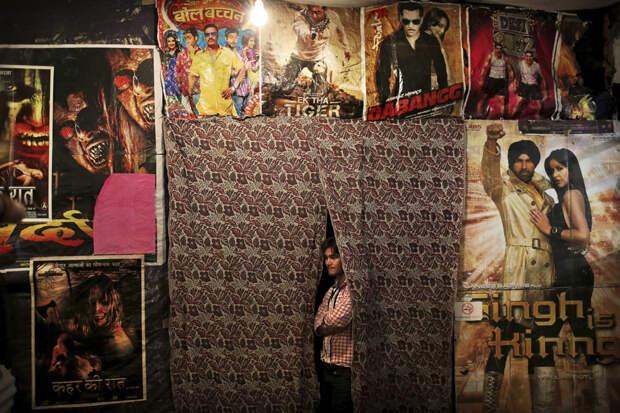 Кинотеатр в Индии