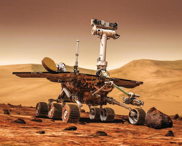 Ученые моделируют климатические условия на Марсе.