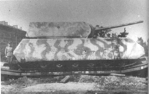 Попытка создать огромный танк.