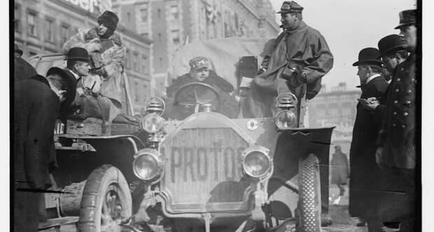 «Большая гонка» Нью-Йорк — Париж 1908 года, когда лишь три автомобиля дошли до финиша