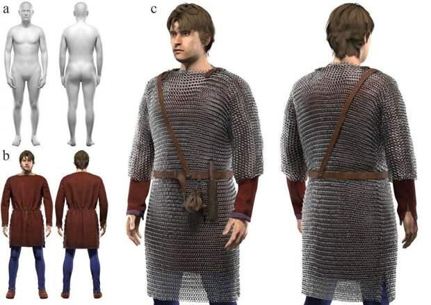 Ученые создали платформу для реконструкции древней одежды на базе компьютерной игры