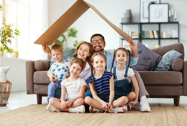 Правительство погасит ипотеку многодетным семьям