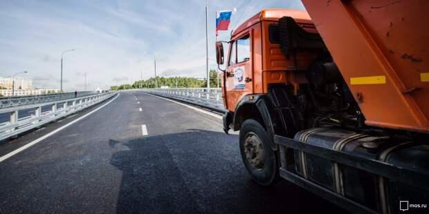 Многотонным грузовикам запретят въезд на МКАД без пропуска
