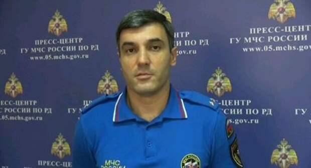Опубликовано видео с места схода селя в Дагестане