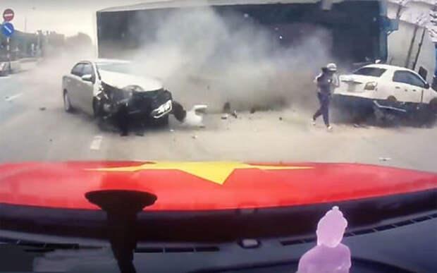 Как быстро убежать от грузовика: материнский инстинкт или молниеносная реакция?