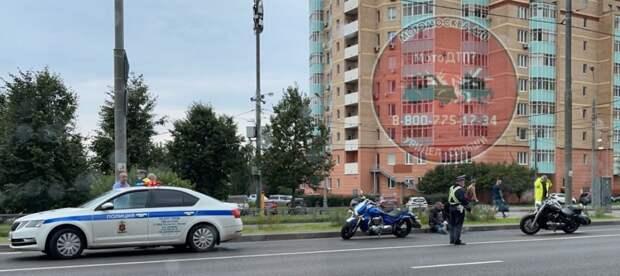 В районе Новокуркинского шоссе сбили мотоциклиста