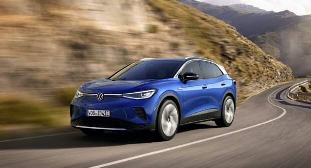 Новый электрический спорткар Volkswagen ID.4 GTX