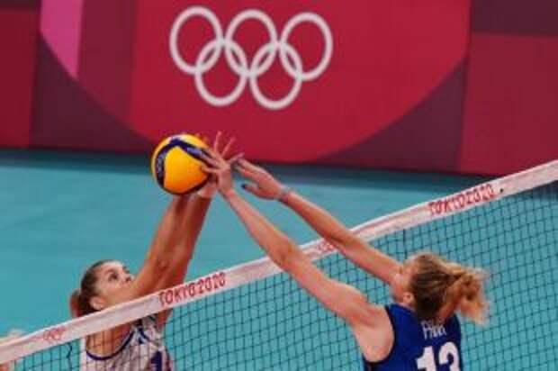Российские волейболистки уступили итальянкам в стартовом матче на Олимпиаде