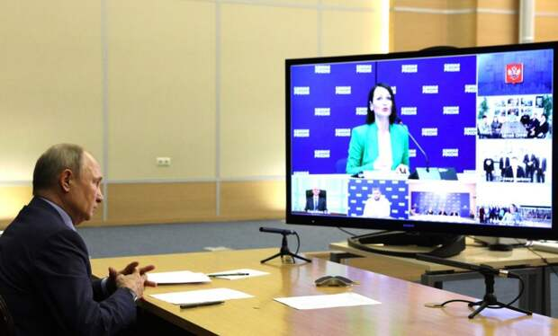 На встрече с президентом Татьяна Буцкая предложила новые меры поддержки семей / Фото: официальный сайт президента РФ - http://kremlin.ru/
