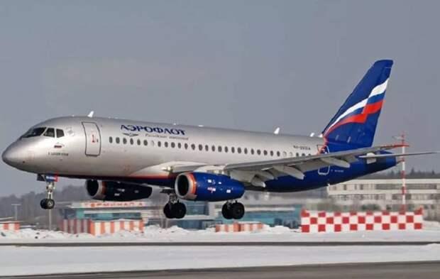В Шереметьево приземлился самолет «Аэрофлота» с неисправной гидравликой