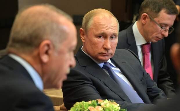 Эрдоган не сумел добиться уступок от Путина на московских переговорах