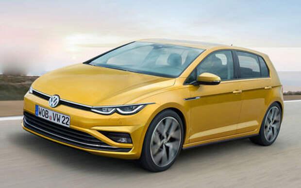 VW рассказал о новом Golf и других новинках