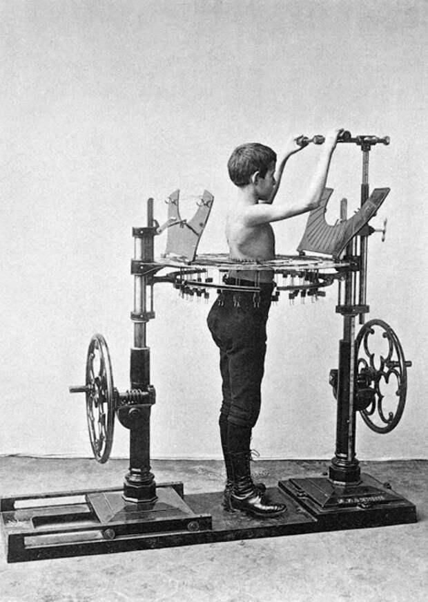 Пытка или качалка? Первые модели тренажерных аппаратов