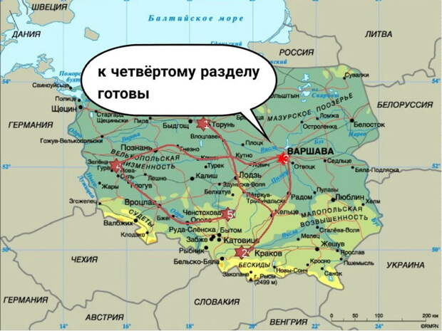 В предверии четвертого раздела Польши