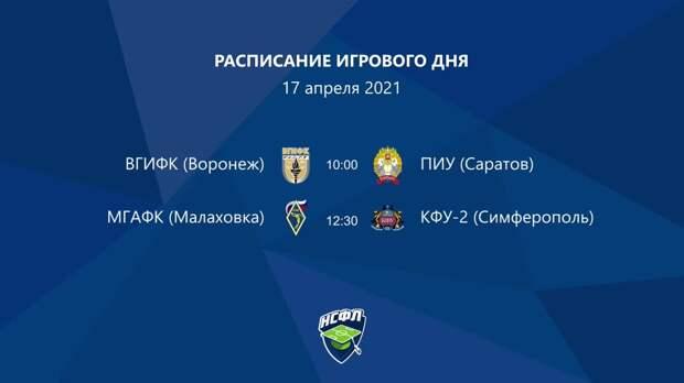 ВГИФК (Воронеж) — ПИУ (Саратов) | Высший дивизион, «Б» | 2021