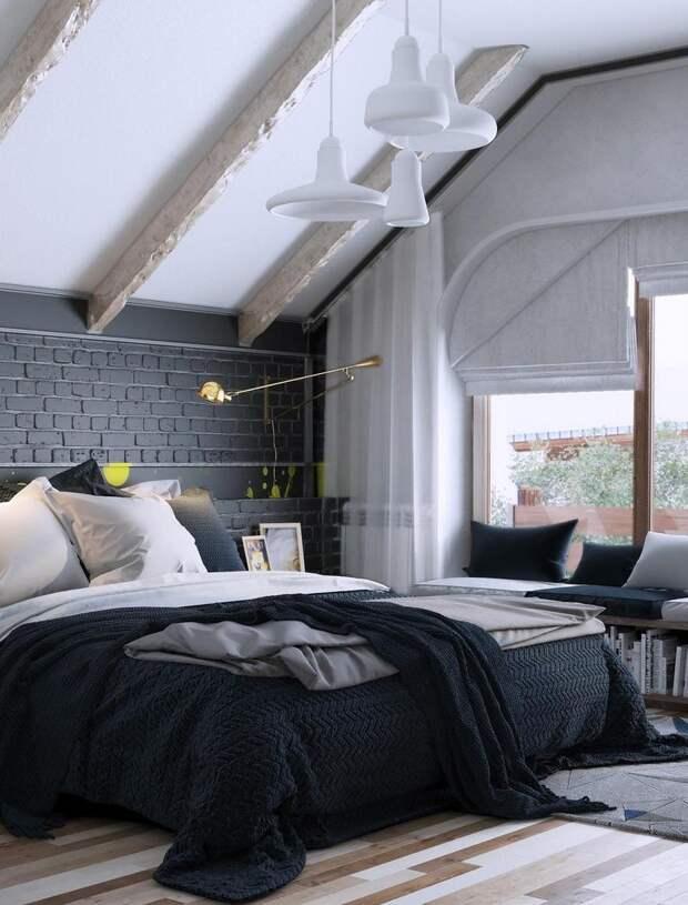 Дизайн спальни 14 кв.м в современном стиле: фото, описания, варианты размещения мебели (57 фото)