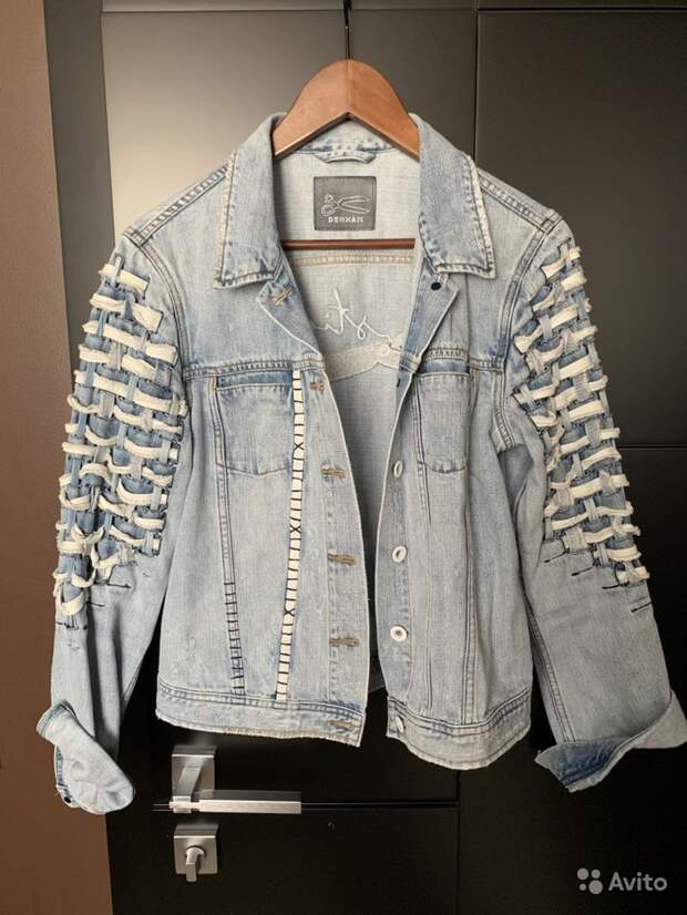 Denham - джинсовка из деталей