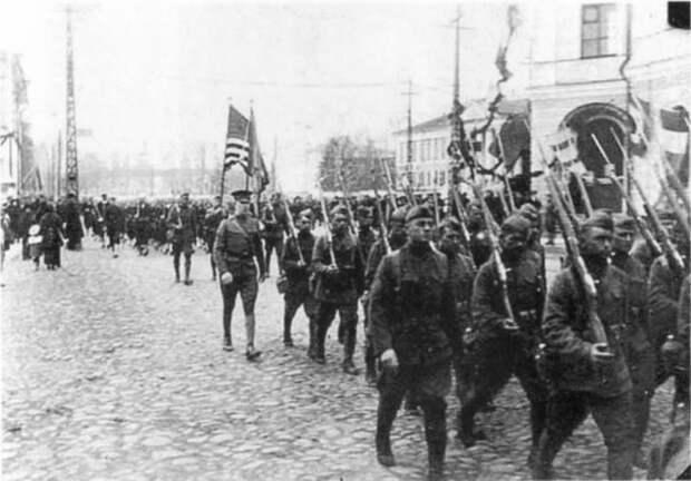 Американское вторжение в Россию