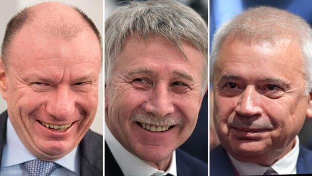 Поздравим уважаемых людей. Состояние семи российских миллиардеров выросло на $2,7 млрд в 2020 году