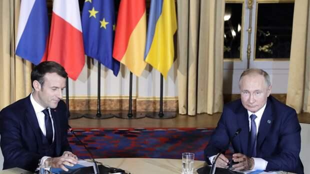 "Путин ""перебил"" Макрона на климатическом саммите"