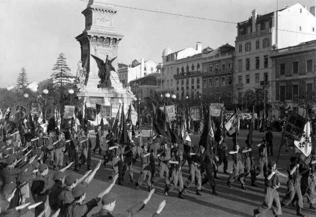 Почему Португалия не участвовала во Второй мировой войне