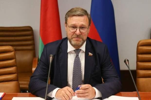 Косачев прокомментировал встречу Лаврова с госсекретарем США Блинкеном