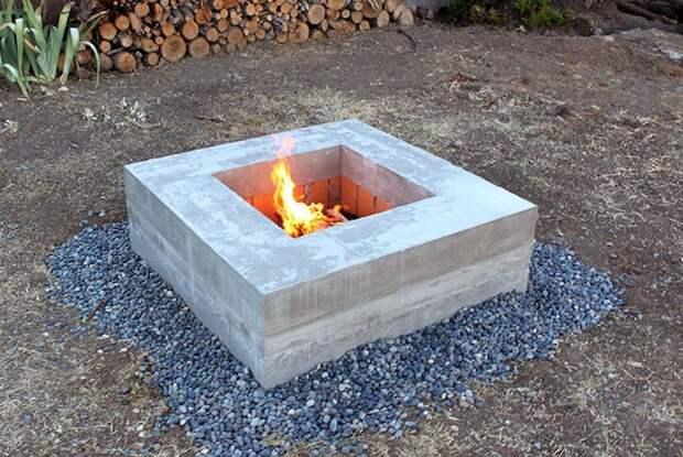 25 великолепных примеров использования бетона, которые заметно изменят ваш сад
