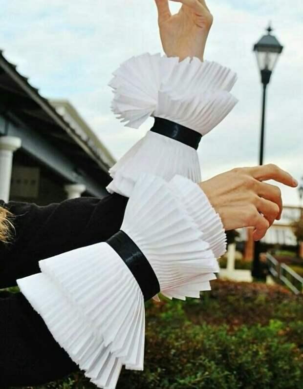 Шик в рукавах (подборка)