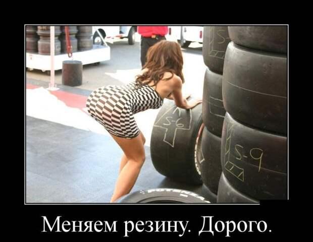 Свежие и веселые демотиваторы о женщинах (10 фото)